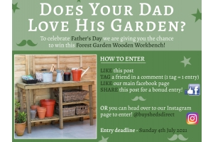 Father's Day work bench giveaway