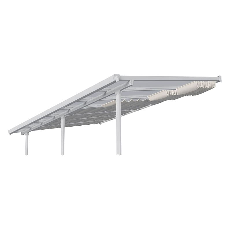(3m x 5.46m) Palram Patio Cover Roof Blinds - White
