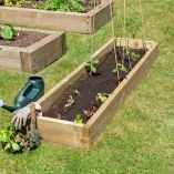 Forest Caledonian Long Raised Bed 1'6 x 6' (0.45m x 1.8m)
