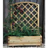 Forest Toulouse Wooden Garden Planter 3'3x1'4 (1.0x0.4m)
