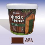 Shed and Fence Treatment 5ltr Dark Brown