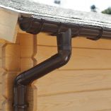 Palmako Rain Gutter for Gable Roof - 6000mm
