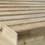 12x10 Ultimate Slatted Roof B
