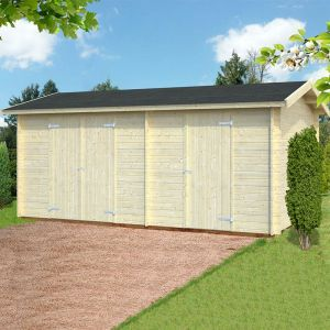 17' x 10'5 Palmako Jari Premium (28mm) Multi-room Shed (5.2m x 3.2m)