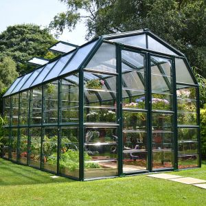 8'x12' (2.4x3.6m) Palram Rion Clear Grand Gardener Greenhouse