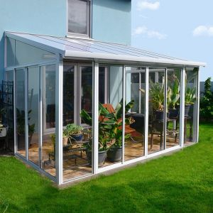 14x10 Palram San Remo Lean To Conservatory