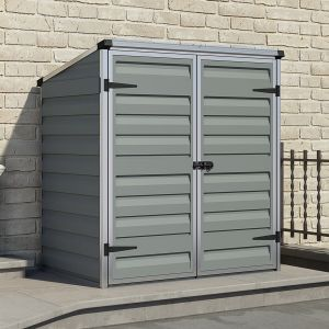 4x3 Palram Dark Grey Voyager Shed