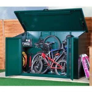7' x 3' Asgard Access 4 Bike Metal Storage Shed (2.13m x 0.83m)