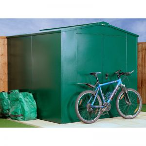 7' x 7' Asgard Gladiator Police Approved Security Metal Shed (2.2m x 2.2m)