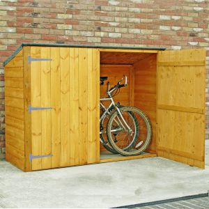 Shire Wooden Bike Shed 6x3