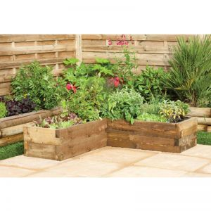 Grow-Plus Caledonian Corner Raised Bed