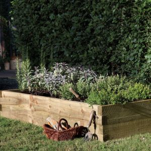 Forest Caledonian Raised Bed 180 x 90cm