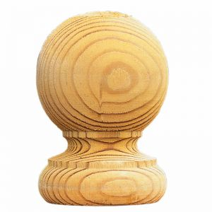 Forest Pk of 2 Ball Finials and Post Caps