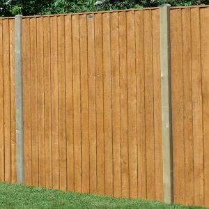 Forest 6' x 5' (1.83m x 1.54m) Featheredge Fence Panel
