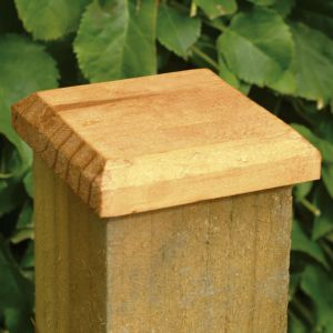 Forest Fence Post Cap 13 x 13cm