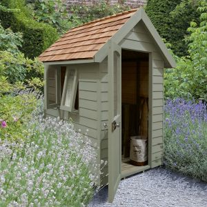 6' x 4' Forest Green Retreat Shed (1.81m x 1.22m)