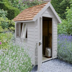 6' x 4' Forest Grey Retreat Shed (1.81m x 1.22m)
