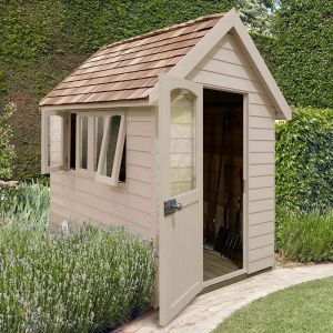 8' x 5' Forest Cream Retreat Shed (2.41m x 1.5m)