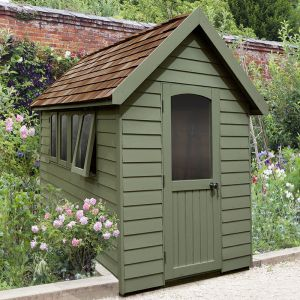 8' x 5' Forest Green Retreat Shed (2.41m x 1.5m)