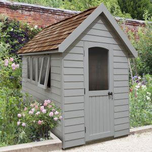 8' x 5' Forest Grey Retreat Shed (2.41m x 1.5m)