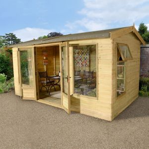 12x8 Ultimate Harvington Summerhouse