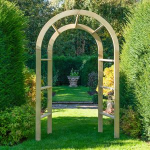 Forest Infinity Arch 5'x2'