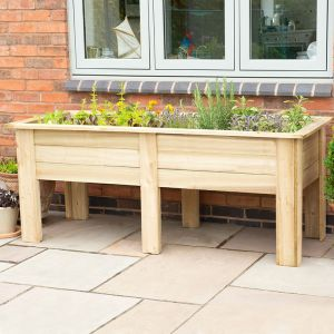 Forest Large Kitchen Garden Planter 6' x 2' (1.8m x 0.7m)
