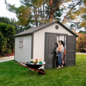 11x11 Lifetime Heavy Duty Plastic Shed