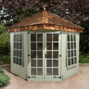 7'8x7'8 Ultimate Summerhouse - Cedar Shingle Roof