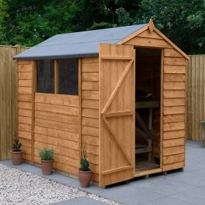 7' x 5' Forest Overlap Dip Treated Apex Wooden Shed