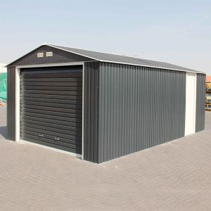 12x26 Olympian Anthracite Metal Garage