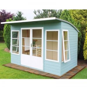 10'x6' (3x1.8m) Shire Orchid Summerhouse