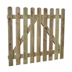 Forest Heavy Duty Pressure Treated Pale Gate 0.9 x 1.0m