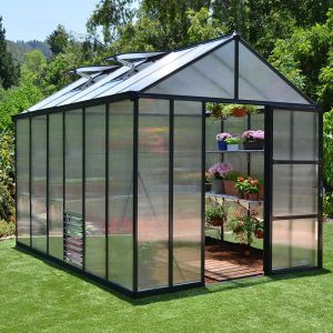 8x12 Palram Glory Greenhouse