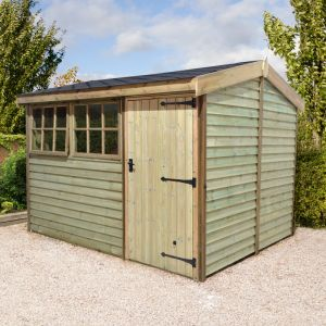 12x8 Shed Republic Ultimate Barnstyle Workshop - Standard Door