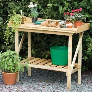 Forest Economy Potting Bench