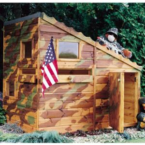 6x4 Shire Command Post Childrens Playhouse