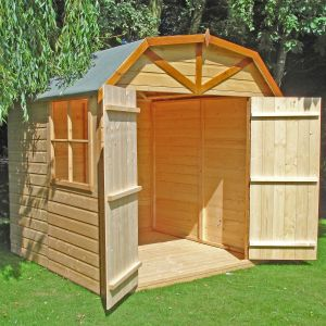 7x7 Shire Barn Double Door Shed