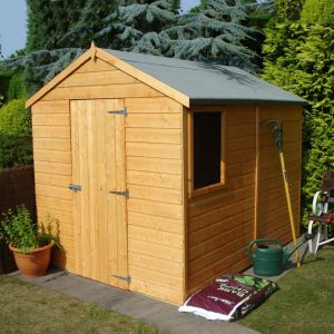 8x6 Shire Apex Durham Single Door Shed