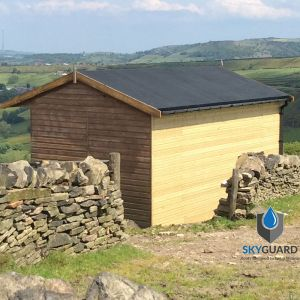 10'x15' SkyGuard EPDM Garden Building & Shed Roof Kit - Replacement Covering