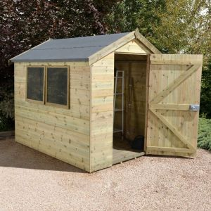 8' x 6' Shed Republic Ultimate Heavy Duty Shed - Single Door