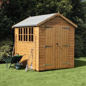 10' x 6' (3.05x1.83m) Traditional Heavy Apex Shed