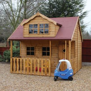 8x10 Traditional Swiss Cottage Playhouse