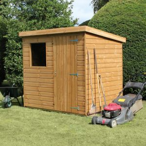 12' x 6' (3.66x1.83m) Traditional Standard Pent Shed