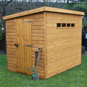 12' x 6' Traditional Pent Security Shed (3.66m x 1.83m)