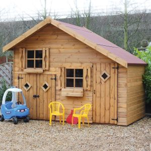 6x10 Traditional Play Station Playhouse