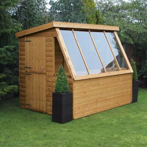 6' x 6' Traditional Potting Shed 6' Gable (1.83m x 1.83m)