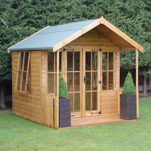 6x8 Traditional Broadway Summerhouse