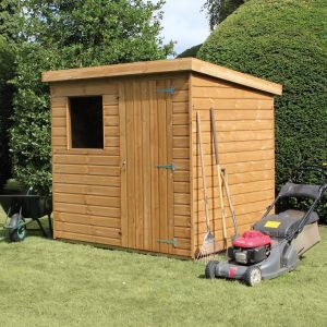 7' x 5' Traditional Standard Pent Shed (2.14m x 1.52m)