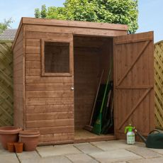 6' x 4' Windsor Suffolk Tongue and Groove Pent Wooden Shed